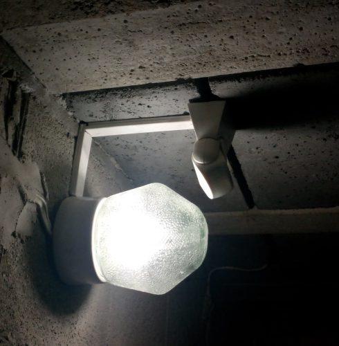 Modernizacja oświetlenia piwnicy w bloku.